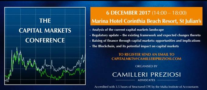 The Capital Markets Conference has been rescheduled